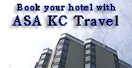 Book your travel with ASA KC Travel